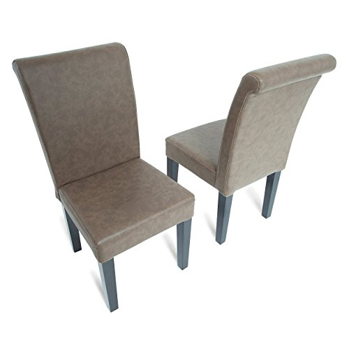 BBO Poker Lounge Chairs, Set of 2, Coffee by BBO Poker