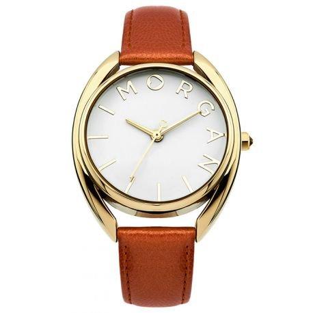 Morgan – m1246cog – Reloj Mujer – Cuarzo Analógico – Reloj color blanco – pulsera piel