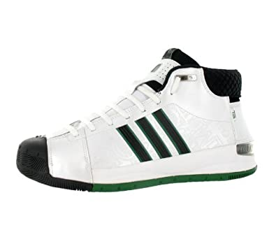 competitive price 0f443 ea766 Adidas Men'S Ast Ts Pro Model Player Basketball Shoe Black, White, Green  (13.5): Amazon.co.uk: Shoes & Bags