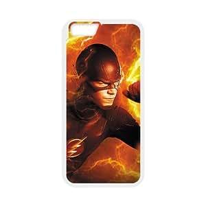 The Flash 009 funda iPhone 6 4.7 Inch Cubierta blanca del teléfono celular de la cubierta del caso funda EVAXLKNBC15948