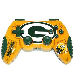 Mad Catz Green Bay Packers PS2 Wireless Control Pad -