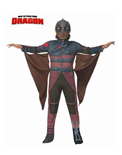 Hiccup Costume Dragon 2 (Rubies How to Train Your Dragon 2 Deluxe Hiccup Flight Suit Costume, Child Small)