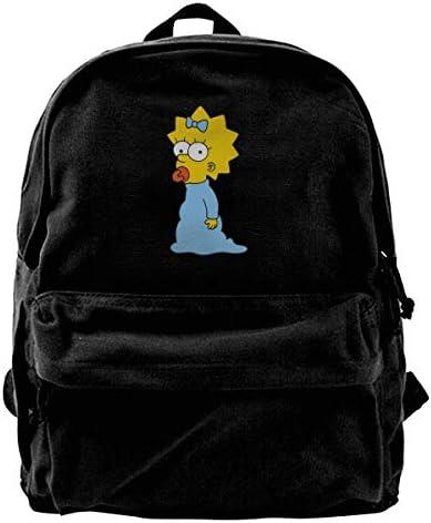 Dsm1-Fbsj リュック リュックサック バックパック レディースリュック シンプソンズ Simpsons メンズバック 多機能 大容量 鞄 カバン ビジネスバック 旅行 遠足バックパック アウトドア 男女兼用 高校生 通学 通勤