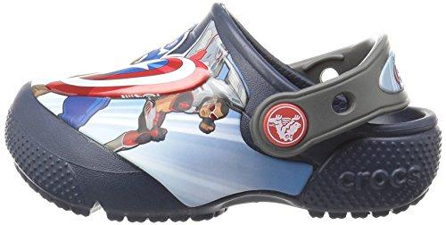 Crocs Boys' FL Avengers Multi K Clog, Navy, 11 M US Little Kid by Crocs (Image #5)