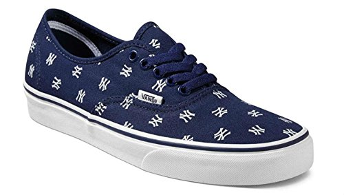 9a96ebc219a Vans Unisex MLB Authentic Skate Shoes-New York  Yankees Navy-13.5-Women 12-Men - Buy Online in Oman.