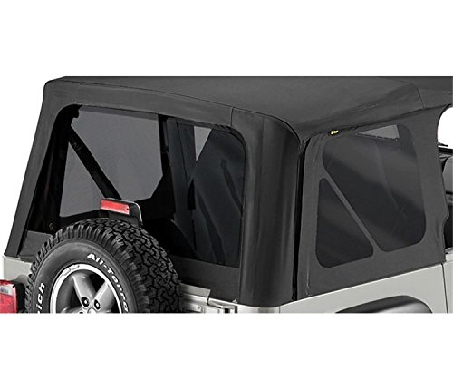 Bestop 58128-35 Black Diamond Tinted Window Kit Replace-A-Top for 2003-2006 Wrangler (Except Unlimited)