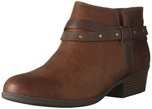 Clarks Women's Addiy Zoie Ankle Boot, Tan Leather, for sale  Delivered anywhere in Canada