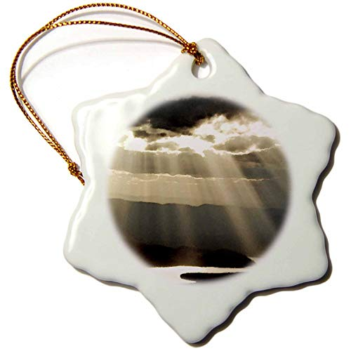 3dRose Whitefish Lake in Montana US27 CHA1543 Chuck Haney Snowflake Ornament 3