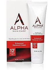 Alpha Skin Care - Enhanced Renewal Cream, 12% Glycolic...