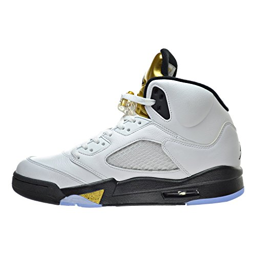 Air gold Turnschuhe Nike coin Jordan metallic Retro Herren black 5 white U5qwqpgn
