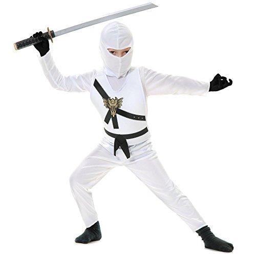Ninja Avenger Costume (Black Ninja Avenger Kids Costume)