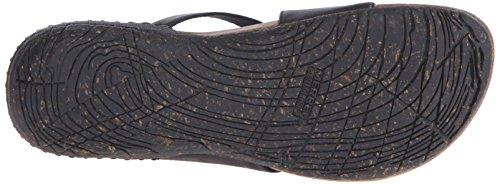 Merrell Whisper Wrap sandalia de la diapositiva Black
