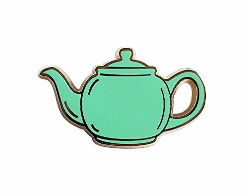 Pinsanity The Office Green Teapot Enamel Lapel pin -