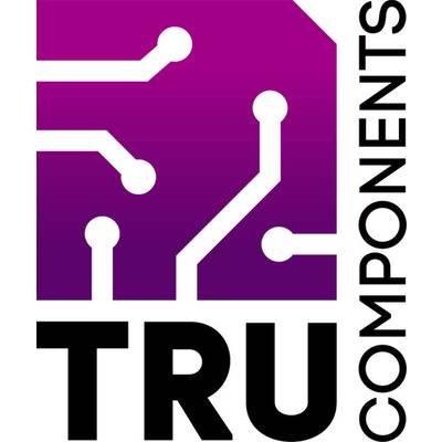 PCB Ruler L x B x H TRU COMPONENTS PCB Lineal Magenta 1 St 300 x 34 x 1 mm