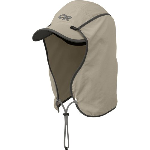 Outdoor Research Sun Runner Sun Hat, Khaki, Medium