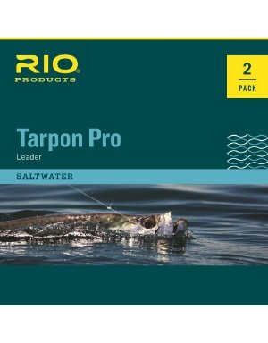 RIO Products Leaders Pro Tarpon Leader 30Lb Class 80Lb Fluorocarbon Shock, Clear