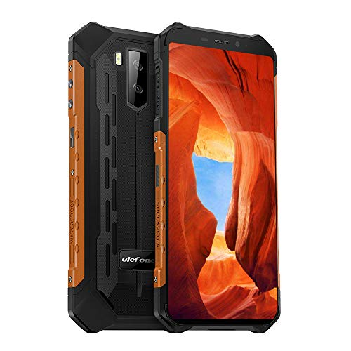"""Ulefone Armor X5(2020) Waterproof Rugged Phones Unlocked, Rugged Cell Phones 4G Android 9.0 32GB+3GB, 5.5""""FHD,13MP+5MP…"""