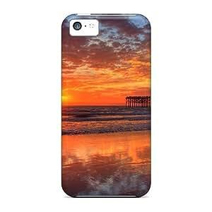 Lmf DIY phone caseAnti-scratch And Shatterproof Pacific Beach Sunset Phone Case For iphone 6 4.7 inch/ High Quality Tpu CaseLmf DIY phone case