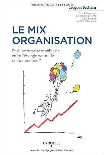 le mix organisation et si lentreprise mobilisait enfin lenergie naturelle de lautonomie strategie