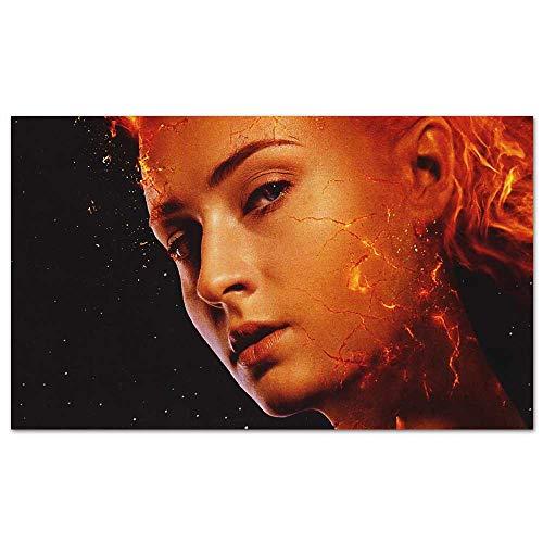 Movie Posters x Men Dark Phoenix Movie 2018 Sophie Turner Home Decor for Living Room Office Bedroom ()