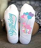 Birthday Princess Socks Unicorn Funny Girl Gifts Teenager