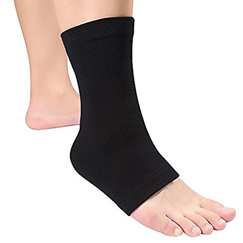 Doact Plantar Fasciitis Compression Foot Sleeve Ankle Brace Heel Protector Cushions Arch Support for Heel Spurs, Sprains Strain Arthritis Weak, Foot Pain Relief (1 piece socks)