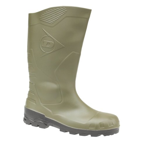 Dunlop Unisex Devon (verde) Wellington Boot / Mens Womens Rain Boots (8 Us) (verde)