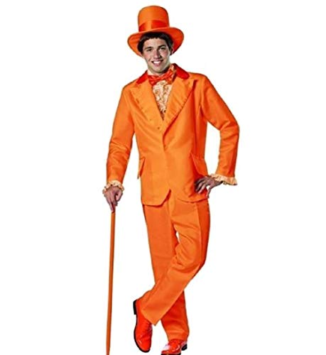 Dumb and Dumber Lloyd Orange Tux Costume by Halloween -