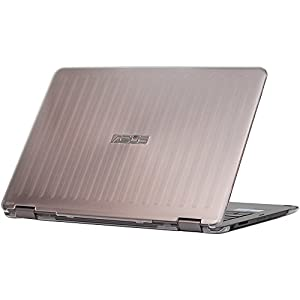 iPearl mCover Hard Shell Case for 13.3-inch ASUS ZENBOOK Flip UX360CA series (NOT fitting all other ASUS ZenBook series like UX305 / UX330 / UX390, etc ) laptop (Clear)