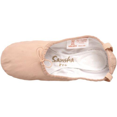 Scarpetta Da Ballo In Pelle Sansha Pro 1 Rosa