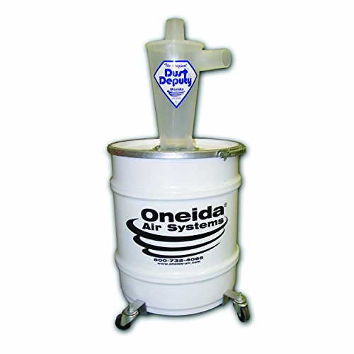 Deluxe Dust (Oneida Molded Deluxe Dust Deputy Kit With 10-gallon Steel Drum)