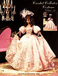 Paradise+Costumes Crochet - Jeweled Engagment Gown 1830 Crochet Collector Costume Vol 75 Paradise Pub