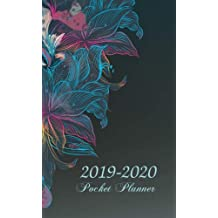 2019-2020 Pocket Planner: 2-Year Pocket Planner, 2 Year Diary, Two Year Monthly Planning Calendar, 24-Month Calendar, Planner At A Glance, Agenda and Calendar, U.S. Holidays, Personal Writing Journal Time Management