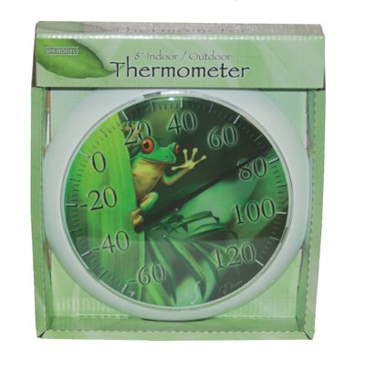 Taylor Precision Products Frog Springfield Thermometer, 8-Inch
