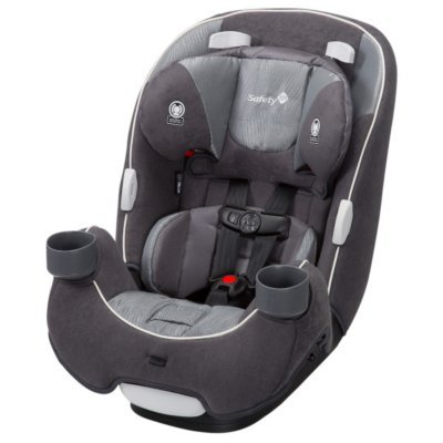 (Safety 1st Ever-Fit 3-in-1 Convertible Car Seat, Taggart)