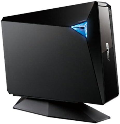 ASUS BW-12D1S-U - Grabadora de BLU-Ray Externa 12X, USB 3.0, Diseño de Stand, Compatible con Mac, M-Disc, Cifrado de Disco, Almacenamiento Web (12 Meses), Nero Backitup, E-Media, PowerDVD: Amazon.es: Electrónica