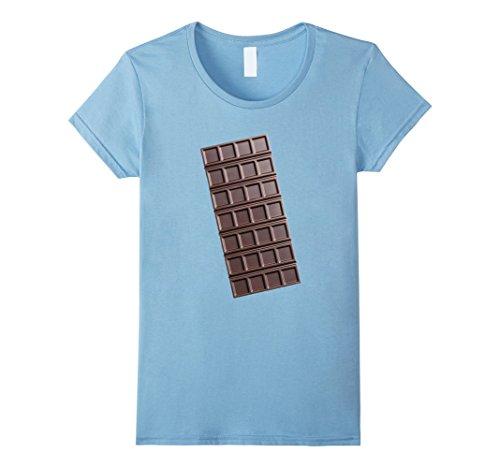 Womens Chocolate Bar Smores Halloween Costume Shirt Small...