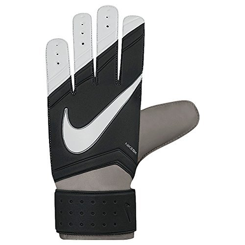 Nike Match Goalkeeper Soccer Goalkeeper Gloves (Black, Grey) Sz. 10