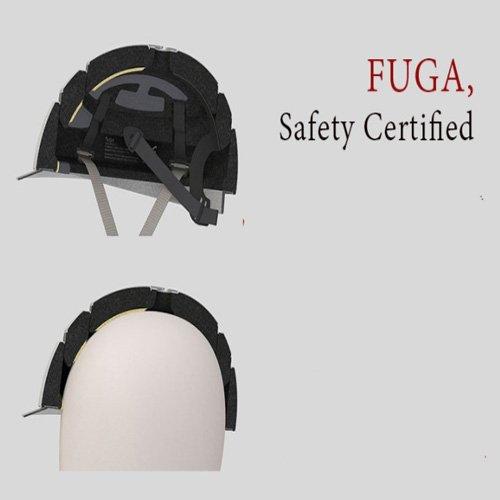 Closca Fuga Foldable Bicycle Helmet Black