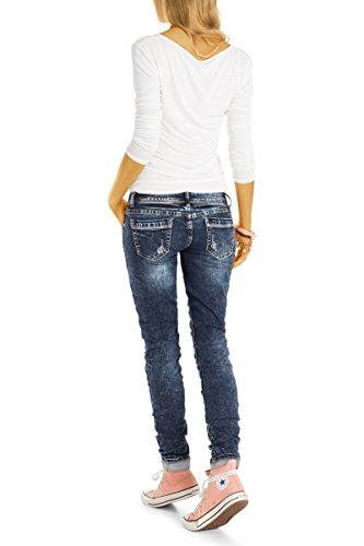 Blue Bestyledberlin Attillata Midnight Donna Jeans UUOWPR6pg