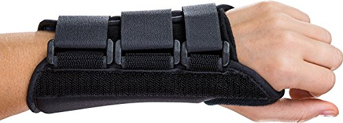 Trader Plus Wrist Brace Support, Carpal Tunnel, Left Wrist Support, Forearm Splint Band, 3 Straps Adjustable, Breathable for Sports, Sprains, Arthritis and Tendinitis (Left hand)
