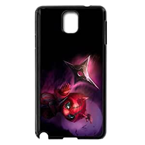 Samsung Galaxy Note 3 Cell Phone Case Black League of Legends Deadly Kennen Qjrlh