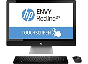 "HP ENVY Recline 27-k107eg 2.9GHz i5-4570T 27"" 1920 x 1080Pixeles Pantalla táctil Negro, Plata PC todo en uno - Ordenador de sobremesa All in One (68,6 cm (27""), Full HD, 4ª generación de procesadores Intel® Core™ i5, 8 GB, 1000 GB, Windows 8.1)"