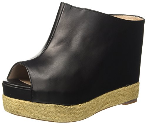 Nero Campbell Mujer Virgo Black Leather Jeffrey Negro Tacones q8WUpvnH