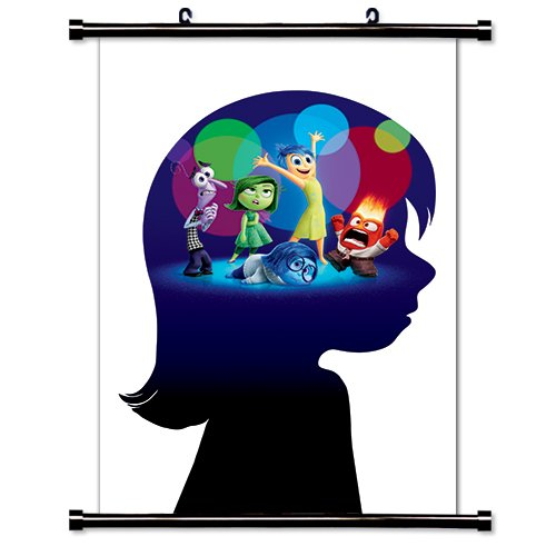 Inside out Disney Movie Fabric Wall Scroll Poster  Inches