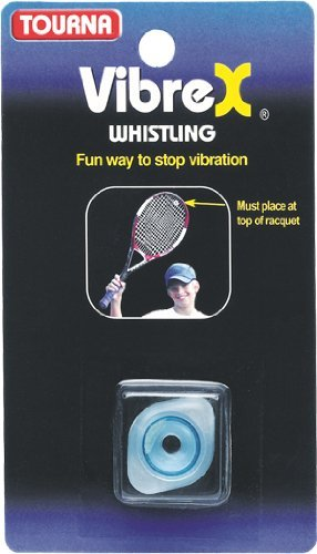 Tourna VibreX Whistling Kid's Tennis String Vibration Dampener-Shock Absorber