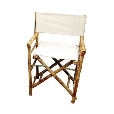 Bamboo Director's Chair - Set of 2 (Bamboo) (35''H x 23''W x 19''D) by Bamboo