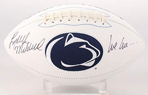 - Lydell Mitchell Autographed Signed Memorabilia Penn State Nittany Lions Logo Football Inscribed We Are. - Certified Authentic
