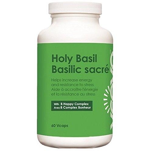 Veeva Basics Holy Basil W B Happy Complex  60 Veg Caps