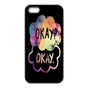 2014 New & Fashion Star DIY The Fault in Our Stars Okay?okay. phone Case Cover for iPhone 5/5S Cases RCX047708